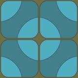 modelo inconsútil geométrico Foto de archivo
