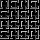 Modelo inconsútil geométrico abstracto libre illustration