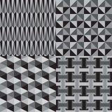 Modelo inconsútil geométrico abstracto Imagen de archivo libre de regalías