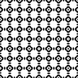 Modelo inconsútil geométrico abstracto en blanco y negro, vector Ilustración del Vector