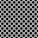 Modelo inconsútil geométrico abstracto en blanco y negro, vector Libre Illustration