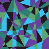 Modelo inconsútil geométrico abstracto en colores de la tendencia ilustración del vector