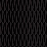 Modelo inconsútil geométrico abstracto negro Imagen de archivo libre de regalías