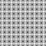 modelo inconsútil geométrico Color blanco y negro Illistration del vector foto de archivo
