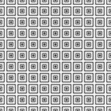 modelo inconsútil geométrico Color blanco y negro Illistration del vector imagen de archivo libre de regalías