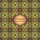 Modelo inconsútil geométrico colorido abstracto Textura floral del fondo Imagenes de archivo