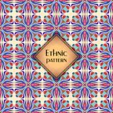 Modelo inconsútil geométrico colorido abstracto Textura floral del fondo Foto de archivo