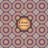 Modelo inconsútil geométrico colorido abstracto Textura floral del fondo Imagen de archivo libre de regalías