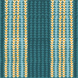Modelo inconsútil geométrico con los triángulos azules y amarillos Imagenes de archivo