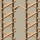 Modelo inconsútil geométrico 3d Imagen de archivo libre de regalías