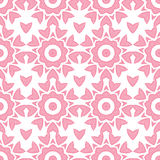 Modelo inconsútil geométrico de la repetición rosada abstracta Imagen de archivo libre de regalías