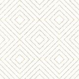 Modelo inconsútil geométrico de las líneas o de los movimientos diagonales del brillo del oro Fotos de archivo libres de regalías