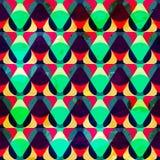 Modelo inconsútil geométrico del inconformista Foto de archivo libre de regalías
