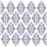Modelo inconsútil geométrico del ornamento floral del bordado ilustración del vector