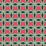 Modelo inconsútil geométrico del vector Imágenes de archivo libres de regalías