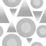 Modelo inconsútil geométrico del vector Foto de archivo