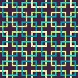 Modelo inconsútil geométrico del vector Fotografía de archivo