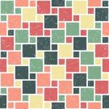 Modelo inconsútil geométrico del vector Imagen de archivo libre de regalías