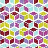 Modelo inconsútil geométrico del vector Fotografía de archivo libre de regalías