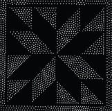 Modelo inconsútil geométrico del vector Repetición de puntos abstractos Fotografía de archivo libre de regalías
