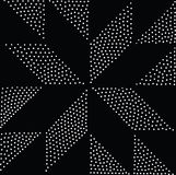Modelo inconsútil geométrico del vector Repetición de puntos abstractos Imágenes de archivo libres de regalías