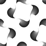 modelo inconsútil geométrico Fondo del verano de la vida marina Fotografía de archivo libre de regalías