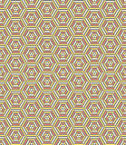Modelo inconsútil geométrico hexagonal libre illustration