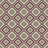 modelo inconsútil geométrico Los diamantes, los cuadrados y las rayas en tonos apacibles en colores pastel Puede ser utilizado co Imágenes de archivo libres de regalías