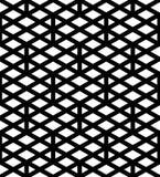 Modelo inconsútil geométrico texturizado extracto blanco y negro Sy Fotos de archivo