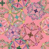 Modelo inconsútil gráfico perfecto Textura de la flor Imagen de archivo libre de regalías