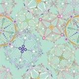 Modelo inconsútil gráfico perfecto Textura de la flor Backg único Foto de archivo libre de regalías