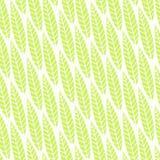Modelo inconsútil hermoso con las hojas verdes claras Ilustración del vector Diseño del verano ilustración del vector