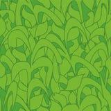 Modelo inconsútil, hojas verdes de la caña del camuflaje para las telas, papeles pintados, manteles, impresiones y diseños abstra libre illustration
