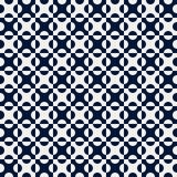 Modelo inconsútil I del punto de los azules marinos del vector Foto de archivo