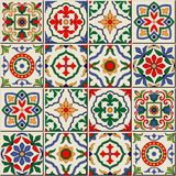 Modelo inconsútil magnífico Tejas marroquíes, portuguesas, Azulejo, ornamentos libre illustration