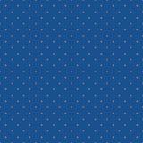 Modelo inconsútil minimalista simple con los pequeños cuadrados, puntos Azul y coralino profundos stock de ilustración