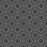 Modelo inconsútil monocromático abstracto del fondo 3D rinden illus ilustración del vector