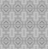 Modelo inconsútil oriental abstracto geométrico stock de ilustración