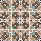 Modelo inconsútil ornamental de Marruecos Foto de archivo libre de regalías