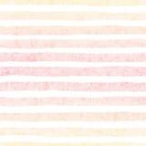 Modelo inconsútil rayado texturizado pintado a mano en el fondo blanco Imagen de archivo libre de regalías