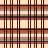Modelo inconsútil rectangular en beige y marrón libre illustration