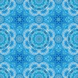 Modelo inconsútil redondo ornamental de Marruecos Ornamento tradicional de Oriente Adorno oriental plano Azulejo marroquí ilustración del vector