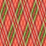 Modelo inconsútil rombal brillante en tonalidades rojas Foto de archivo