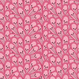 Modelo inconsútil rosado Fotografía de archivo libre de regalías