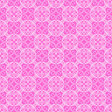 Modelo inconsútil rosado del cordón Imagenes de archivo