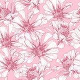 Modelo inconsútil rosado para día de San Valentín romántico libre illustration