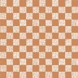 Modelo inconsútil simple de las células del ajedrez Imagen de archivo