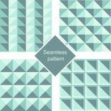 Modelo inconsútil sucinto Las formas geométricas conjunto ilustración del vector
