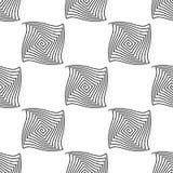 Modelo inconsútil, túneles, espiral torcido en el fondo blanco, p ilustración del vector