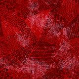 Modelo inconsútil Textura de la acuarela del Grunge Manchas rojas del espray B stock de ilustración
